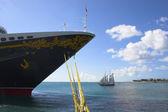 судов и яхт — Стоковое фото