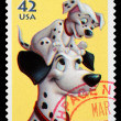 Stock Photo: Disney 101 Dalmations Postage Stamp