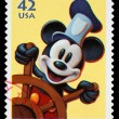 Stock Photo: Disney Mickey Mouse Postage Stamp