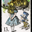 Постер, плакат: Britain Alice in Wonderland Postage Stamp