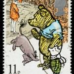 Постер, плакат: Britain Winnie the Pooh Postage Stamp