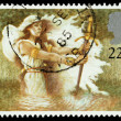 Britain Arthurian Legends Postage Stamp — Stock Photo