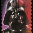 Star Wars Darth Vader Postage Stamp - Stock Photo