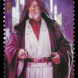 Star Wars Obi Wan Kenobi Postage Stamp — Stock Photo
