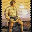 Star WarsLuke Skywalker Postage Stamp - Stock Photo