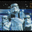 Stock Photo: Star Wars Storm Trooper Postage Stamp
