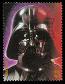 Star Wars Darth Vader Postage Stamp — Stock Photo