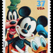 Disney Mickey Mouse Postage Stamp - Stock Photo