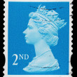 Stockfoto: Britain Queen Elizabeth 2nd Postage Stamp
