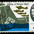 Britain Battle of Britain Postage Stamp — Stock Photo