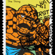 United States Thing Superhero Postage Stamp — Stock Photo #22809292