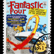 Постер, плакат: United States Fantastic Four Superheroes Postage Stamp