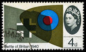 Britain Battle of Britain Postage Stamp — Stock Photo