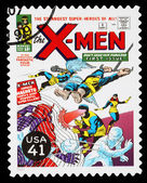 United States X-Men Superheroes Postage Stamp — Stock Photo