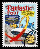 United States Fantastic Four Superheroes Postage Stamp — Stock Photo