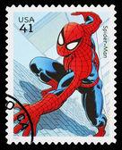 United States Spider Man Superhero Postage Stamp — Stock Photo