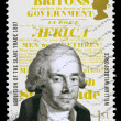 Britain William Wilberforce Postage Stamp — Stock Photo