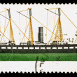 Britain SS Great Britain Postage Stamp — Stock Photo #23063832