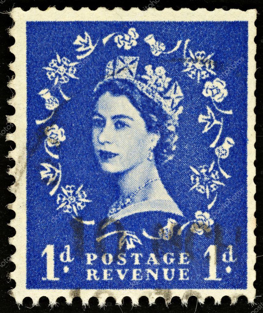 Vintage postage stamp want