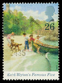 Britain Enid Blyton Postage Stamp — Stock Photo