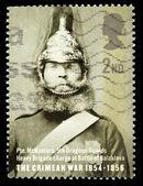 英国克里米亚战争邮票 — 图库照片