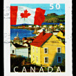 CanadFlag Postage Stamp — Stock Photo #39065401