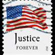 United States Flag Postage Stamp — Stock Photo #39065473