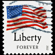 United States Flag Postage Stamp — Stock Photo #39065523