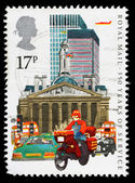 Britain Royal Mail Postal Service Postage Stamp — Стоковое фото