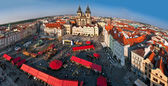 Czech Republic, Prague, Old Town, area. Church of Our Lady befor — Stock Photo