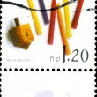 Modern Israeli postage stamp. — Stock Photo