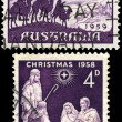Christmas stamps from Australia. — Stock Photo #14067148