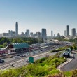 Northern entrance to Tel Aviv. — Stock Photo