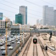 Tel Aviv, transport. — Stock Photo