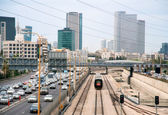 Tel Aviv, transport. — Stock Photo