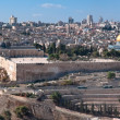 Jerusalem, the panorama of the old city. — Стоковая фотография