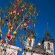 Easter tree in Prague. — Stock Photo