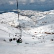 Ski center on Mount Hermon in Israel. — Stock Photo