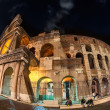 Night lights of the Colosseum. — Stock Photo