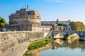 Castel Sant'Angelo in Rome. — Stock Photo