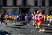 Mass sports race. — Stock Photo