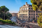 Italy, Rome, Via del Teatro di Marcello. — Stock Photo