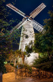 Israel, Jerusalem, Montefiore windmill. — Stock Photo