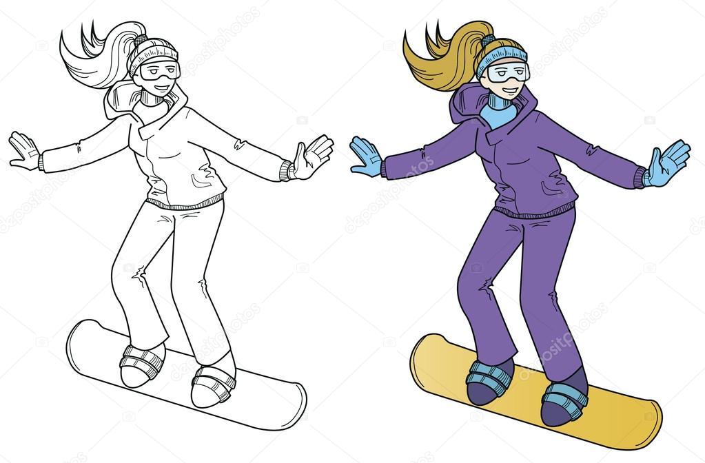 Что рисуют на сноубордах