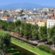 PERPIGNAN city, FRANCE — Stock Photo
