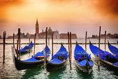 在威尼斯贡多拉 — 图库照片