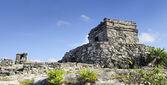 Berömda arkeologiska ruinerna i tulum, mexico — Stockfoto