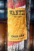 Wanted farwest — Stock Photo