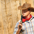 Cow boy spirit — Stock Photo #13688212