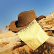 Wanted far west - Stockfoto